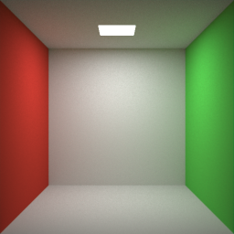 Maxwell render Cornell box