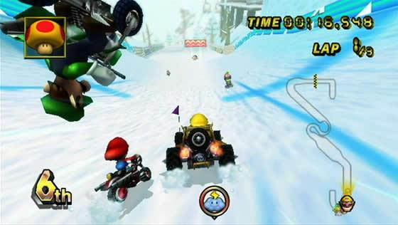 Racing La Kart A Review Of Mario Kart Wii Ars Technica