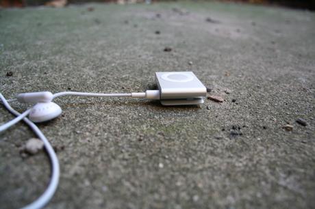 shuffle on ground