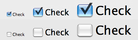Checkboxes at 1.0, 2.0, and 3.0 scale