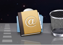 The Applications folder in the Dock