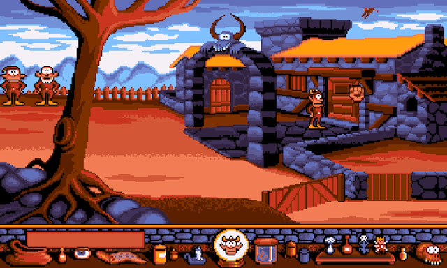ScummVM for Android, hopefully set to gain multitouch gesture support in the near future.