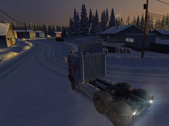 <em>18 Wheels of Steel Extreme Trucker</em>. It's...extreme.