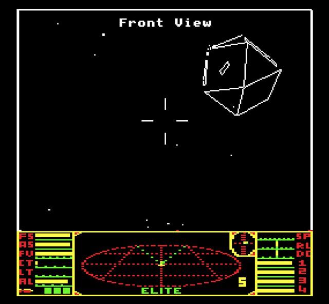<em>Elite</em> on the BBC Micro