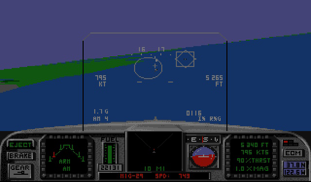 <em>F/A-18 Interceptor</em> matched arcade-style controls with sim-like realism.