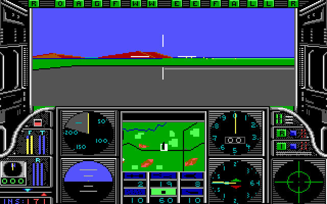 <em>Gunship</em>&#8212;one of the earliest helicopter sims.