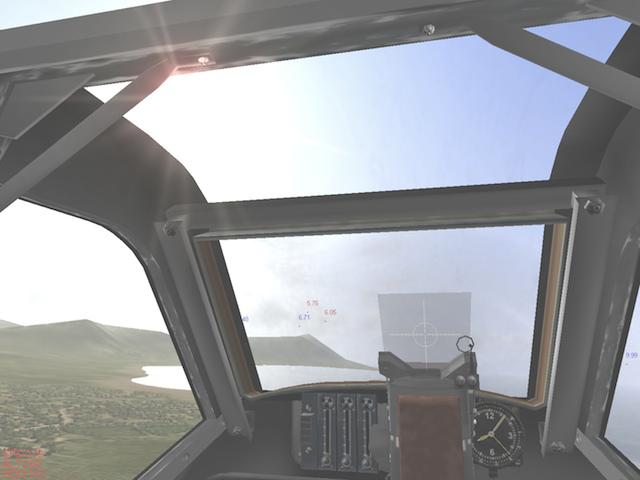 <em>IL-2 Sturmovik</em> managed pretty graphics, despite its deep simulation of World War II fighters.