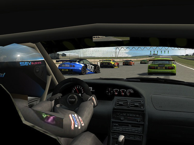 All set to race in <em>Live for Speed</em>.