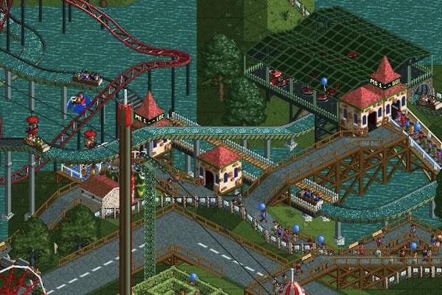 The difficult yet rewarding <em>RollerCoaster Tycoon</em>