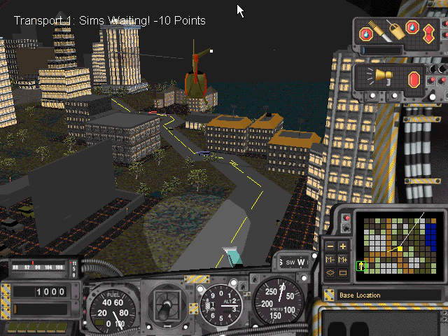 Playing <em>SimCopter</em> was supposed to be like being in a <em>SimCity</em>-created world; unfortunately, it was more like being tortured.