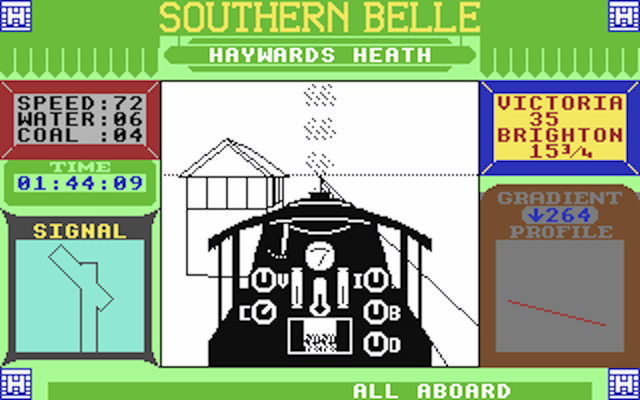 You won't find a game more fun than <em>Southern Belle</em>...unless you try.