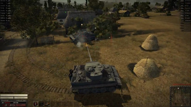 Free-to-play MMO <em>World of Tanks</em> is quickly gaining popularity.