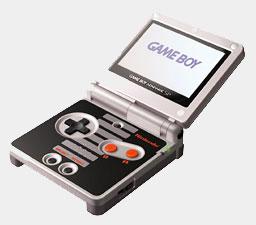 Game Boy Advance SP NES