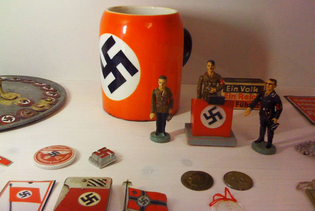 Nazi memorabilia from the 1930s at Berlin's Museum of Things