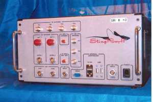 An actual Stingray device, made by the Harris Corporation in the US.