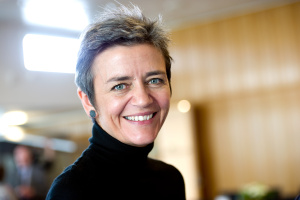 Brussels' competition chief Margrethe Vestager.