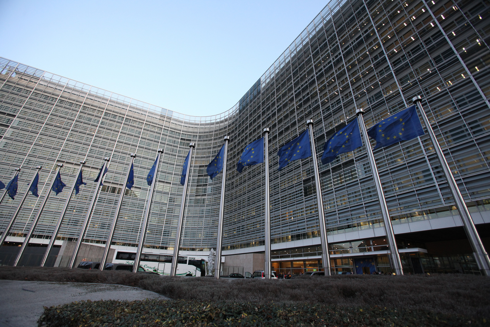 The European Commission building