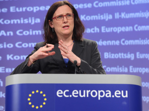 Cecilia Malmström, European Commissioner for Trade, with overall responsibility for TTIP