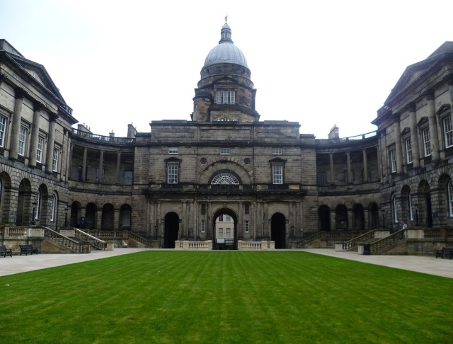 Old College, at the University of Edinburgh