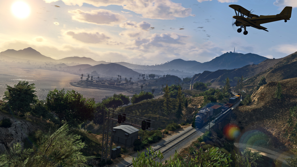 The PC version of GTA V looks stunning in 4K, but it needs a hefty system to drive it.