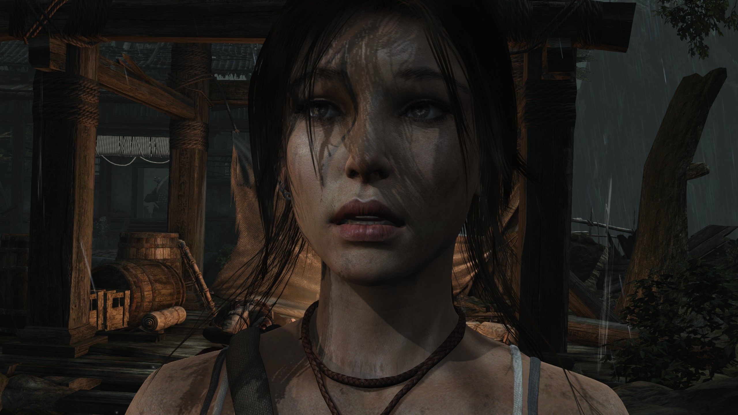 AMD says its TressFX tech, as used in Tomb Raider, is far more efficient than HairWorks.