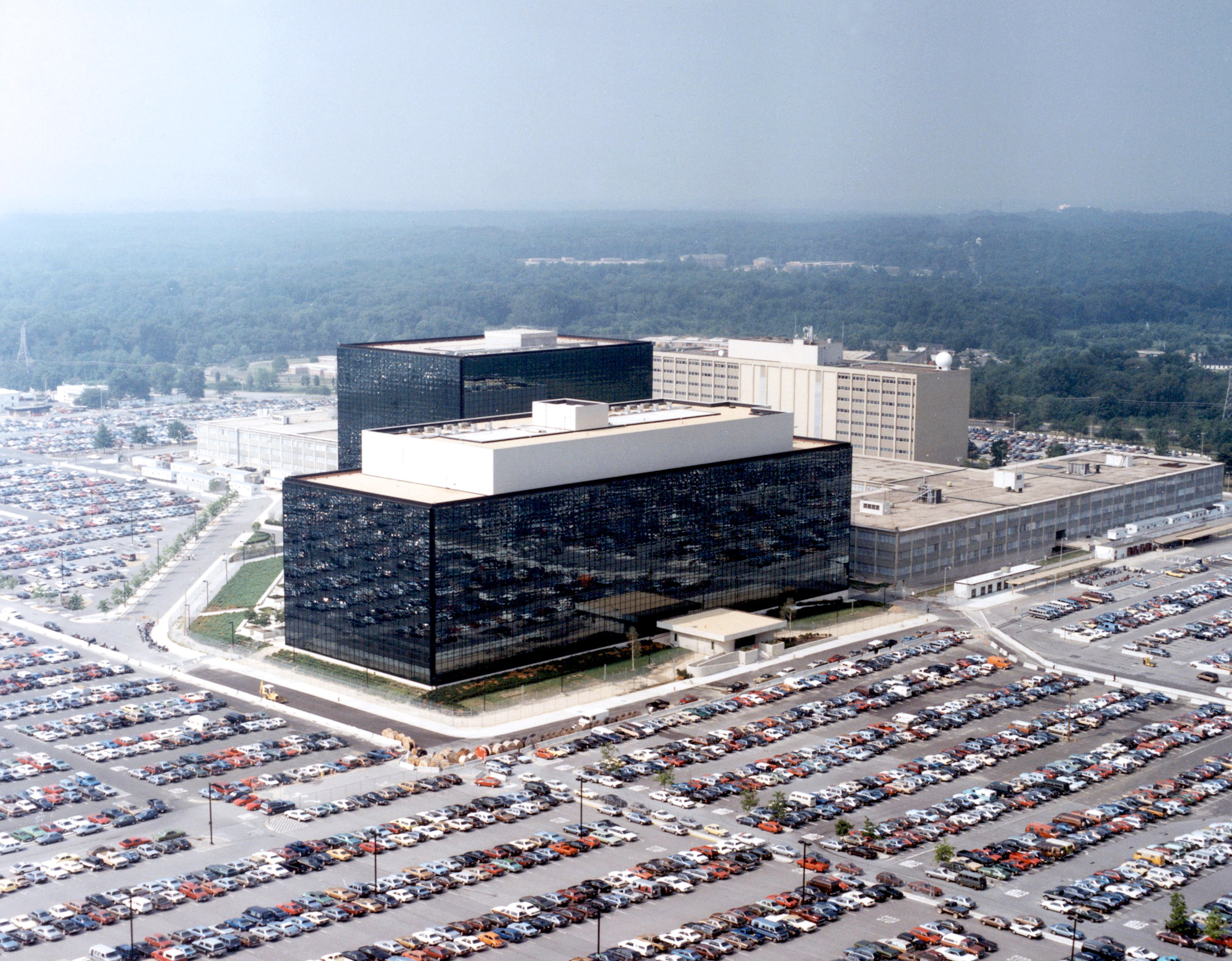 NSA HQ, in Fort Meade.