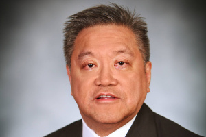 Avago's official headshot of CEO Hock Tan...