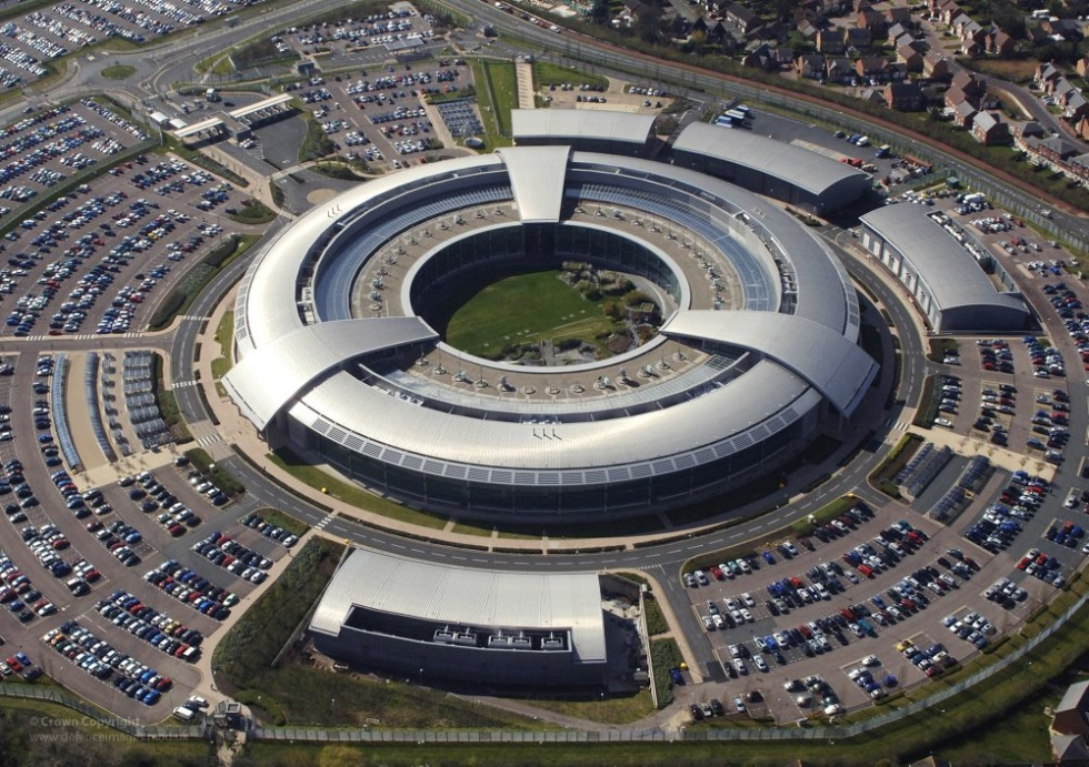 How could we possibly publish a story about hacking without including a photo of GCHQ in Cheltenham?