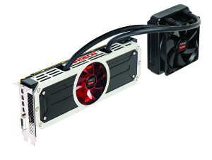 AMD's R9 295X2 with its two GPUs is ideal for 4K gaming.