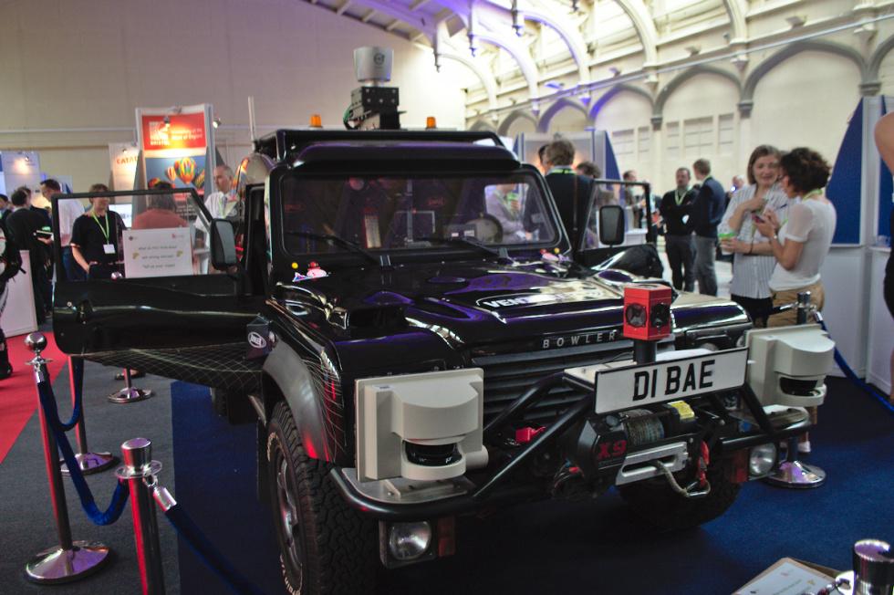 Venturer consortium's driverless car