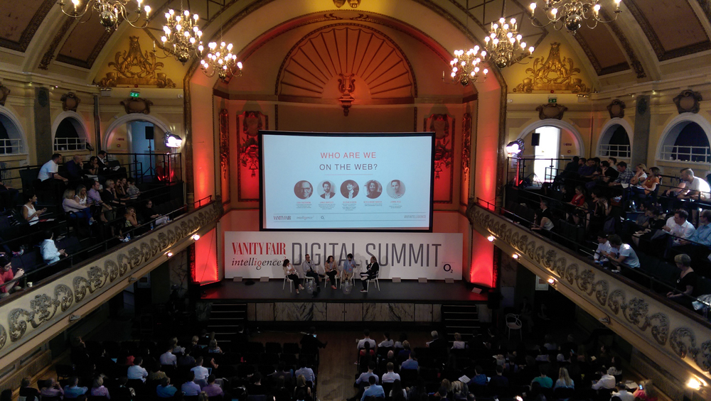 The venue for the digital summit, Shoreditch Town Hall, was rather magnificent.