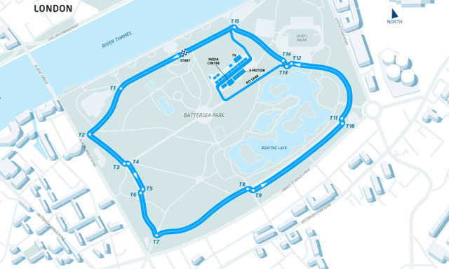 The Battersea Park Street Circuit
