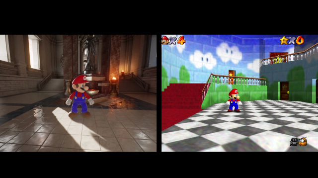 Mario recreated in Unreal Engine 4: Games have an uncanny valley