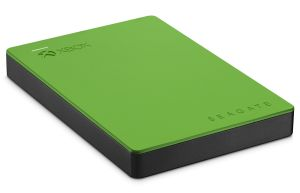 The Seagate Game Drive. Click to zoom in and marvel at all the green.