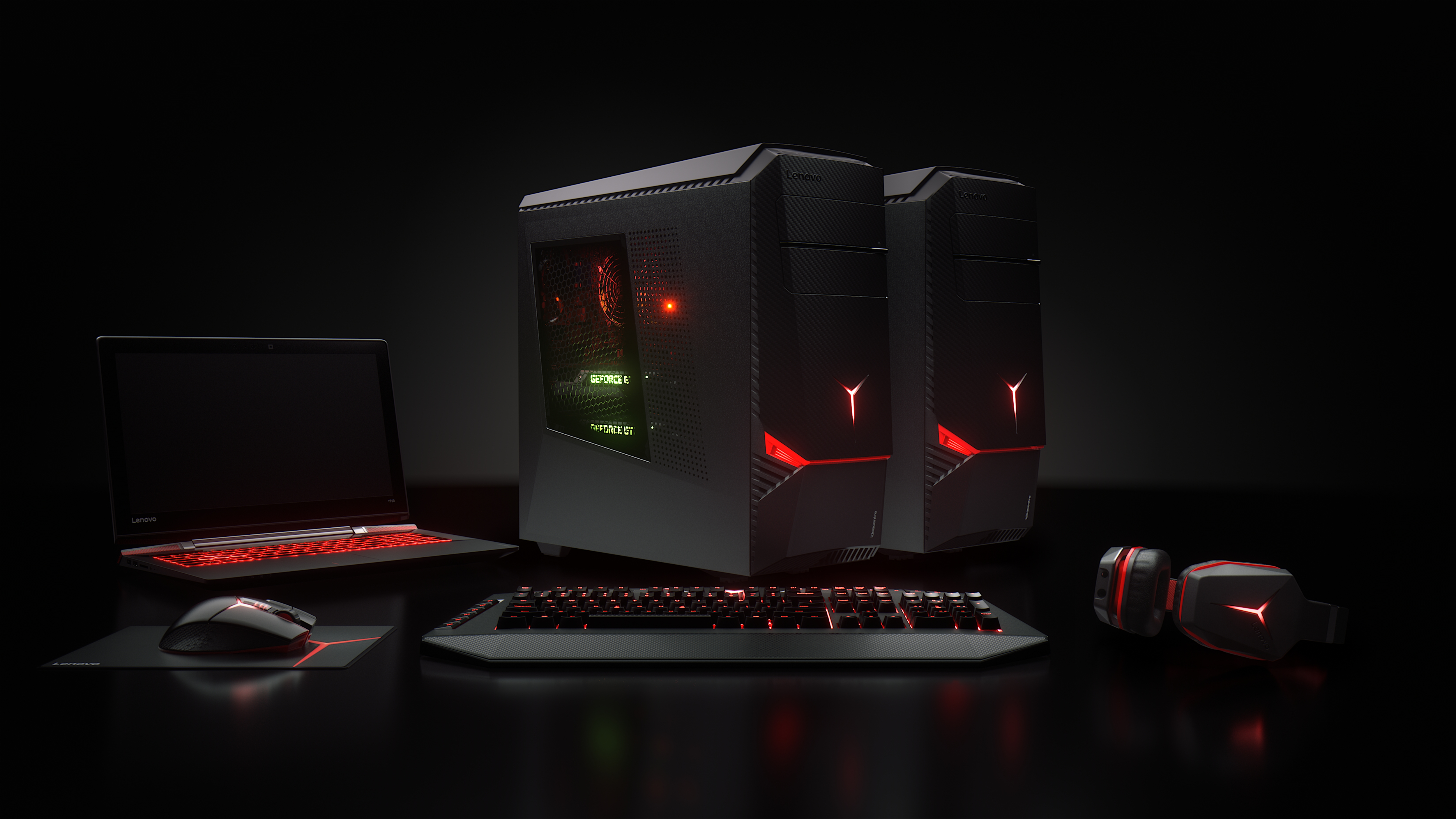 Lenovo gives pc gaming another shot with new angry looking - Gaming wallpaper ...