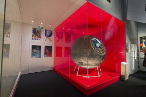 Valentina Tereshkova, the first woman in space, was reunited with the Vostok 6.