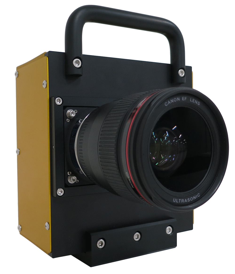 The Canon 250MP prototype camera.