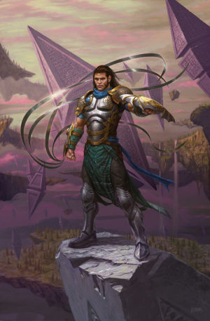 Gideon, one of the planeswalkers who make an appearance in <em>BFZ</em>.