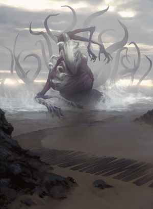 Another giant, particularly terrifying Eldrazi.
