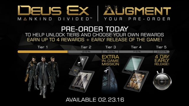 Image of deus-ex pre-order tier ad