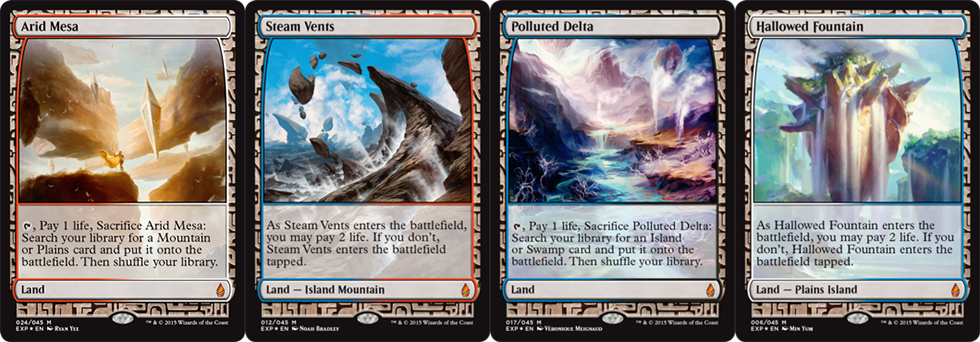 The Expedition cards from <em>Battle for Zendikar</em> are equal parts beautiful, powerful, and valuable.