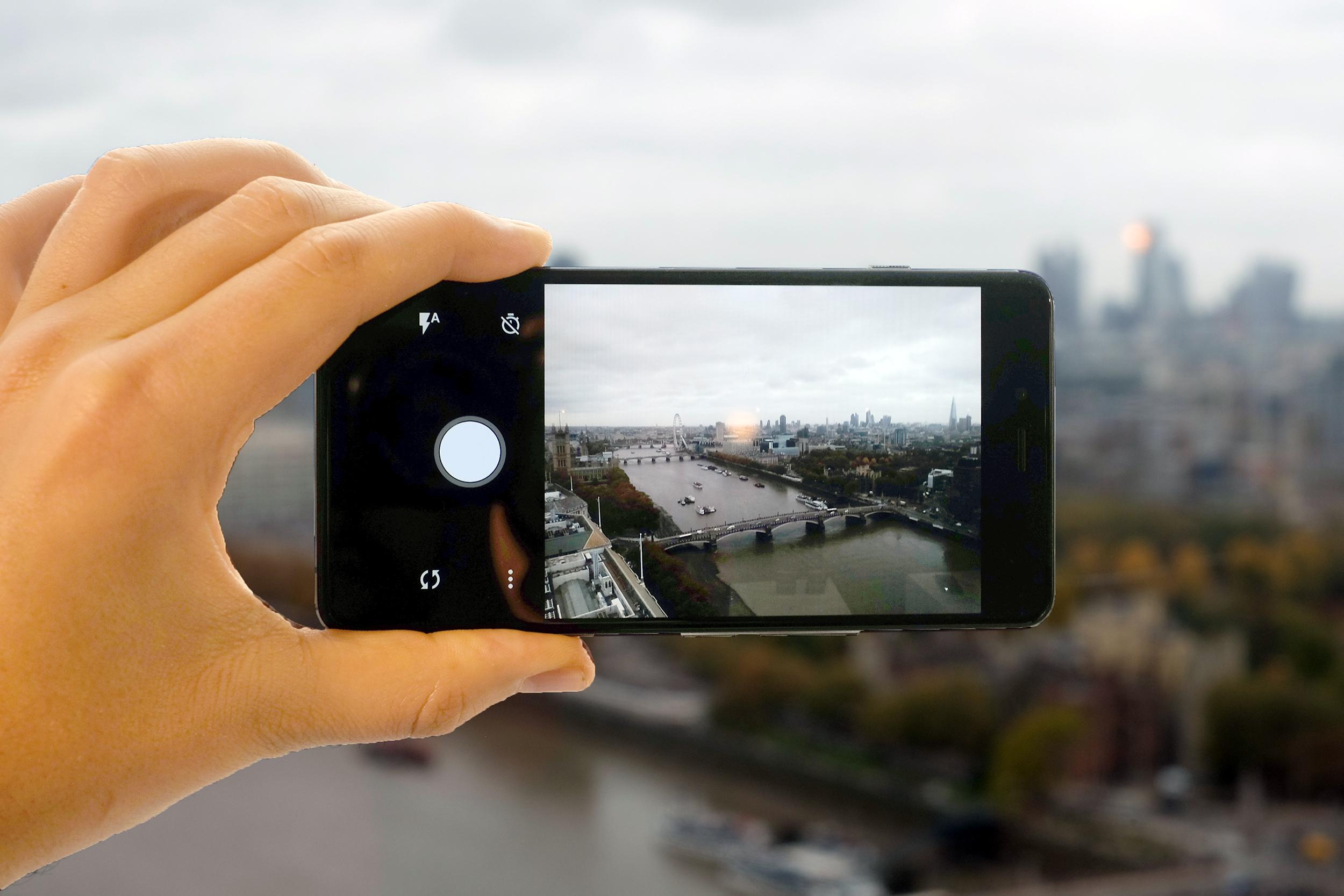 The OnePlus camera app.