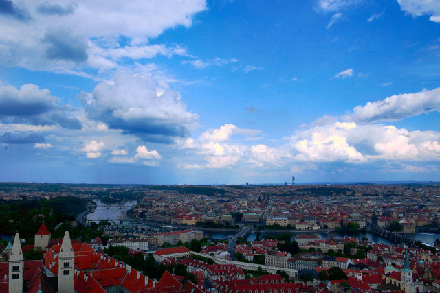 Until now, most examples of ISDS have been in former Soviet bloc countries; with TTIP, that will expand into Western Europe in a big way. Pictured here is the city of Prague and the Vltava river.