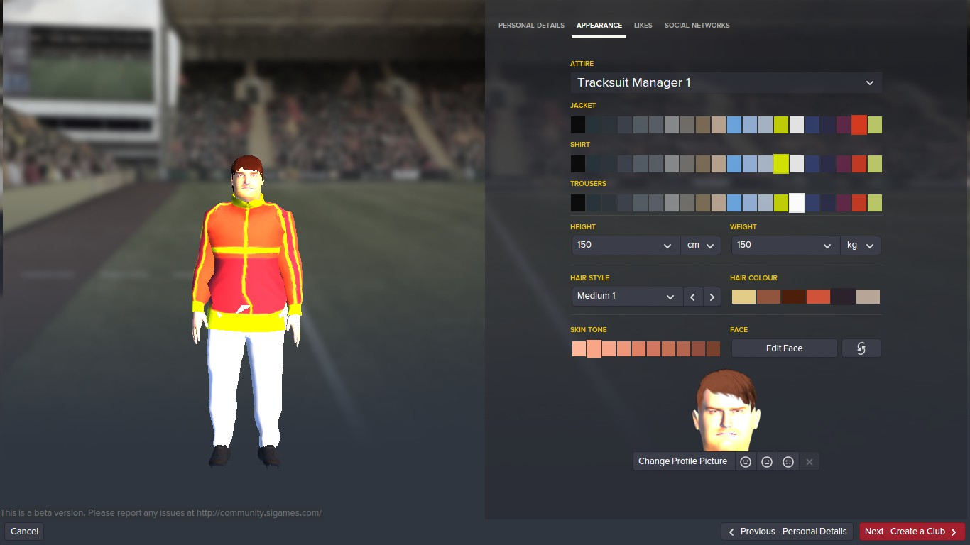 Create your own, incredibly disgusting manager!