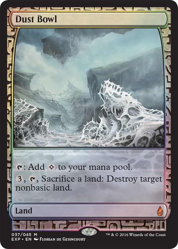 Dust Bowl, from the <em>Oath of the Gatewatch</em> Expeditions sub-set.