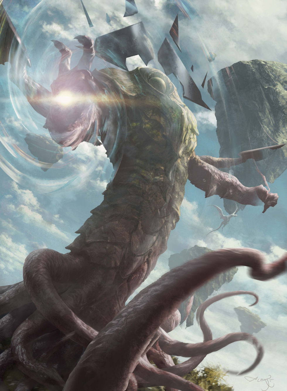 Kozilek, the Big Bad of this <em>Magic</em> expansion.