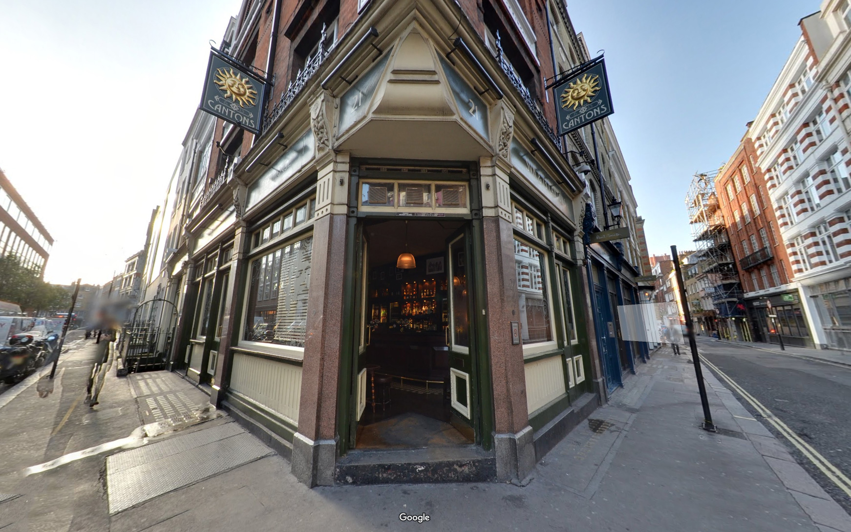 The Sun & 13 Cantons: the location of our second meetup.