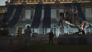 A <em>Hitman</em> scene from Paris.