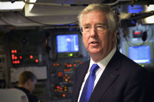 Defence secretary Micheal Fallon.