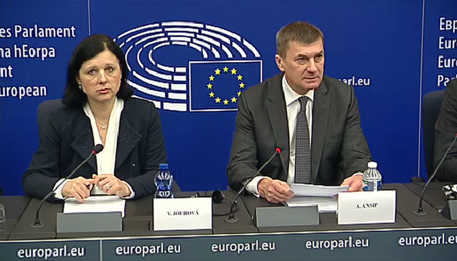 Brussels' justice commissioner Věra Jourová and vice president Andrus Ansip confirmed a political handshake with the US on transatlantic data transfers back in February.